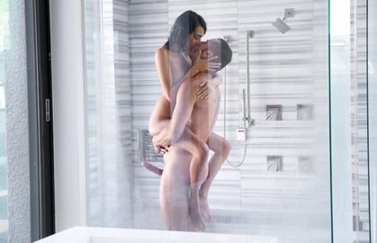 Passionate Lovemaking in the Shower